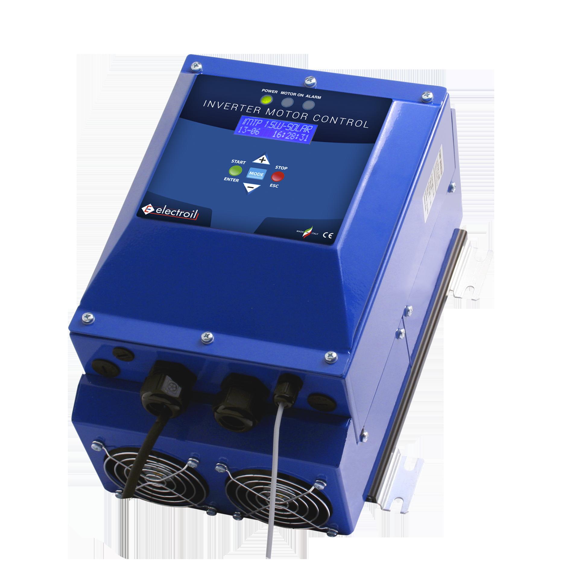 Inverters per pompe alimentati da pannelli fotovoltaici ICTP1.5W-BC-SOLAR