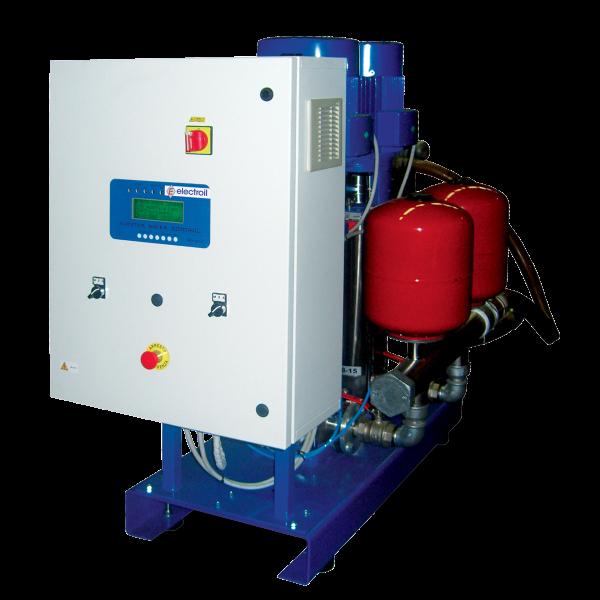 Quadro di controllo ad inverter IPC2 - 4 kW